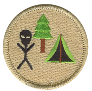Alien Campout Patrol Patch