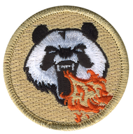 Fire Breathing Panda Patrol Patch