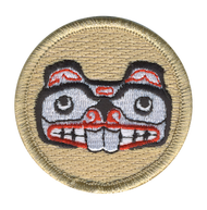 Beaver Totem Patrol Patch
