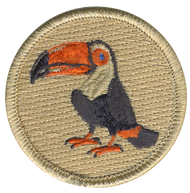 Toucan Patrol Patch