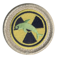 Radioactive Dolphin Patrol Patch