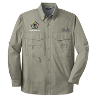 Eddie Bauer® Long Sleeve Fishing Shirt- WB