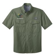 Eddie Bauer® Short Sleeve Fishing Shirt- WB