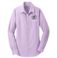 Port Authority® Ladies SuperPro Oxford Shirt- WB