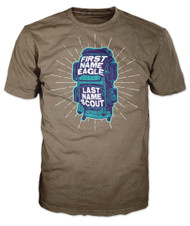 First Name Eagle Last Name Scout T-Shirt (SP7506)