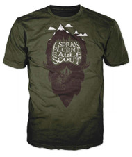 I Speak Fluent Eagle Scout T-Shirt (SP7502)