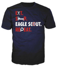 Eat Sleep Eagle Scout Repeat T-Shirt (SP7501)