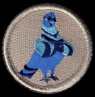 Legit Pigeon Patrol Patch