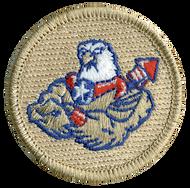 Buff American Eagle Patrol Patch