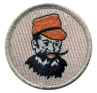 Man with Red Hat Patrol Patch