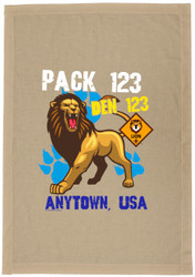 Custom Lion Den Flag (SP7544)