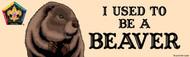 Wood Badge Beaver Bumper Sticker - Realistic (SP5060)