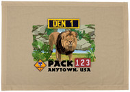 Custom Lion Den Flag (SP7540)