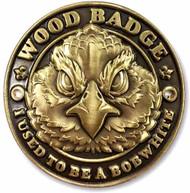 Wood Badge Bobwhite Hiking Stick Medallion