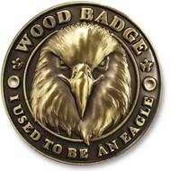 Wood Badge Eagle Hiking Stick Medallion