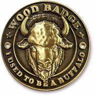 Wood Badge Buffalo Hiking Stick Medallion