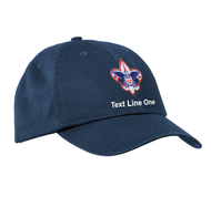 Port & Company® Washed Twill Cap with Scouts BSA Corporate Logo