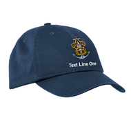 Port & Company® Washed Twill Cap with Sea Scout Logo