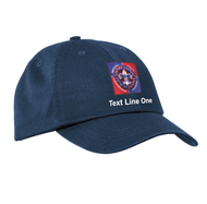 Port & Company® Washed Twill Cap with NYLT Logo