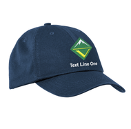 Port & Company® Washed Twill Cap with Venturing Logo