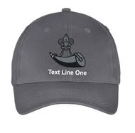 Port & Company® Six-Panel Twill Cap with Powder Horn Logo