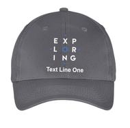 Port & Company® Six-Panel Twill Cap with Exploring Logo