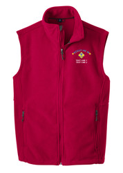 Port Authority® Fleece Vest with Scout Me In Cub Scout Logo