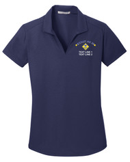 Port Authority® Ladies Dry Zone Polo with Scout Me In Cub Scout Logo