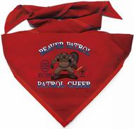 Custom Digitally Printed Beaver Wood Badge Patrol Neckerchief (SP4997)