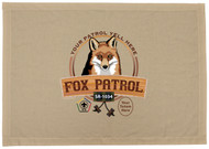 Custom Fox Wood Badge Patrol Flag (SP DP5019)