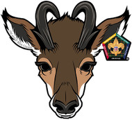 Wood Badge Antelope Car Window Sticker (SP5390)