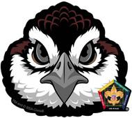 Old Logo Wood Badge Bobwhite Car Window Sticker (SP5393)