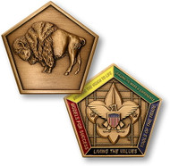 Wood Badge® Buffalo Medallion- DISCONTINUED