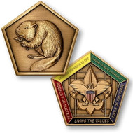 Wood Badge® Beaver Medallion