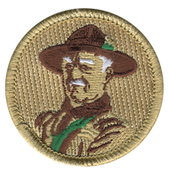 Official Licensed Green Baden Powell Patrol Patch
