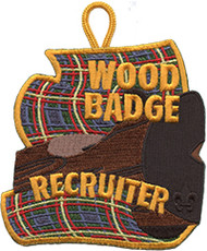 Wood Badge Recruiter Patch