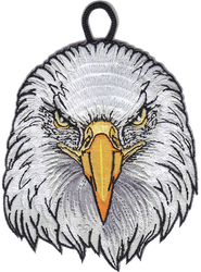 Eagle Head Critter Patch
