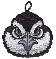 Bobwhite Head Critter Patch