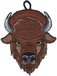 Buffalo Head Critter Patch