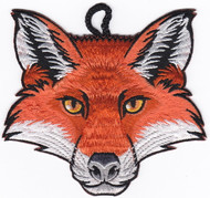 Fox Head Critter Patch