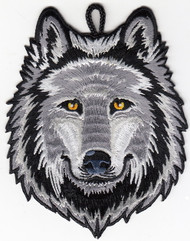 Wolf Head Critter Patch