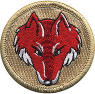 Official Licensed Red Fox Patrol Patch
