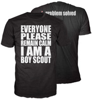 Remain Calm I am a Scout T-shirt