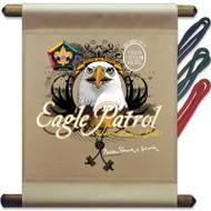 Custom Wood Badge Eagle Patrol Mini Flag