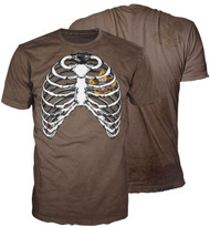 Ribcage BSA Heart 100% Cotton T-shirt