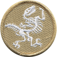 Official Licensed Fossil Patrol Patch