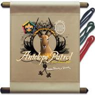 Custom Wood Badge Antelope Patrol Mini Flag (SP3258)