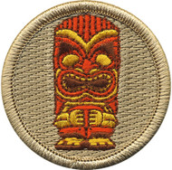 Official Licensed Tiki Patrol Patch