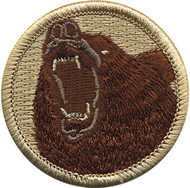 Official Licensed Bear Patrol Patch