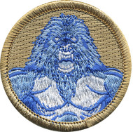 Official Licensed Abominable Snowman Patrol Patch